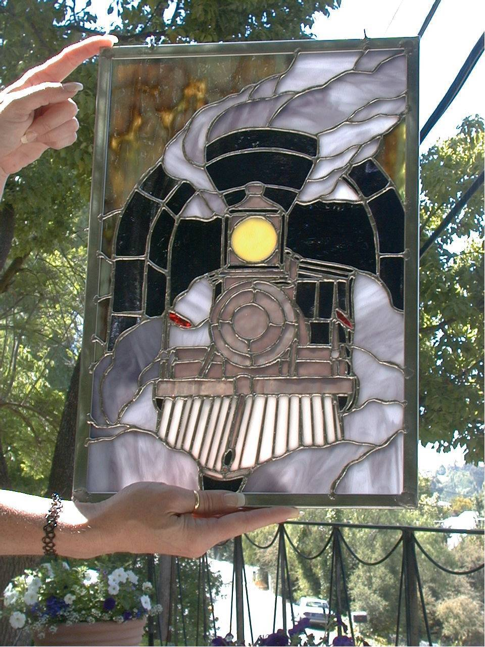 Stained Glass by Glenna